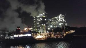 工場の夜景①