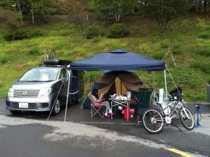 DHとキャンプ