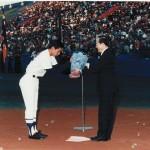 表彰式1986年秋