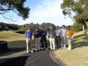 ゴルフコンペ参加者