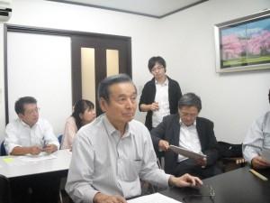 意見発表 長谷川幹事