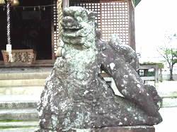 写真①佐賀市大和町印鑰神社の砥川型