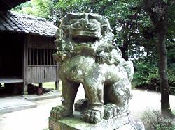 写真④ 鳥栖市姫方町 姫古曾神社の筑後型